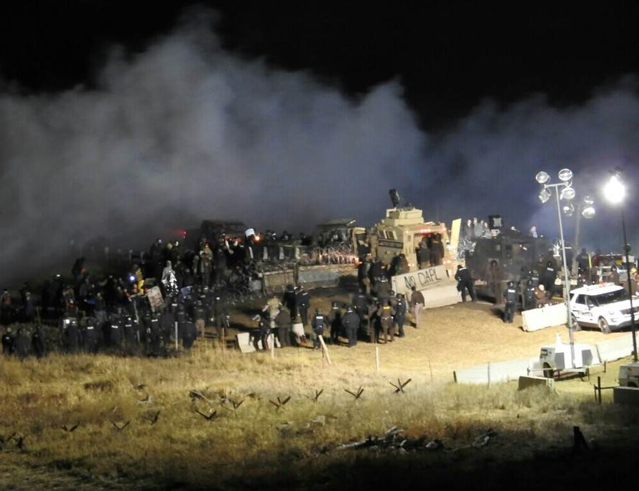 Sheriff's Tactics Against Pipeline Protestors Questioned By Amnesty International