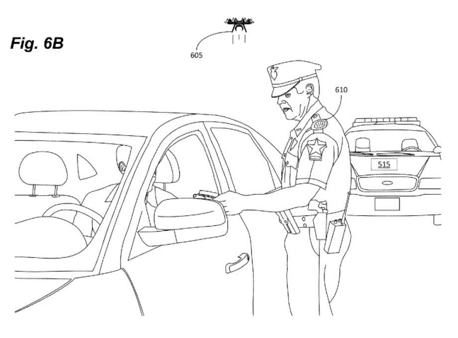 Patent For Mini Police Drone Granted