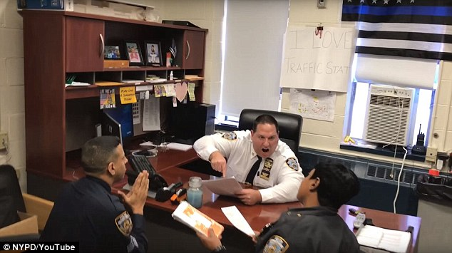 Watch Epic 'Mannequin Challenge' By NYPD