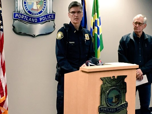 Portland Police Chief: 'We are done with criminal activity in this city'