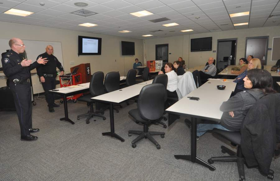 Residents Given Class On Use Of Force Decisions