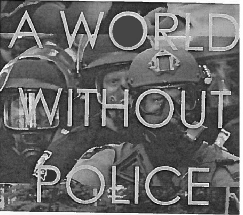 "Protesters Want ""A World Without Police"""