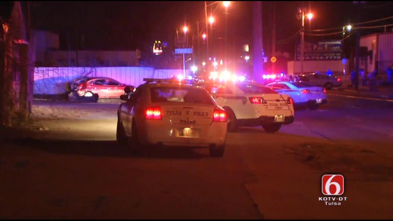 Suspects Fire At Police During Wild Oklahoma Pursuit