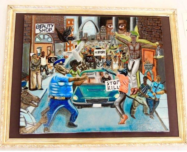 DC Cops Demand Removal Of Capitol Painting Depicting Cops As Racist Pigs