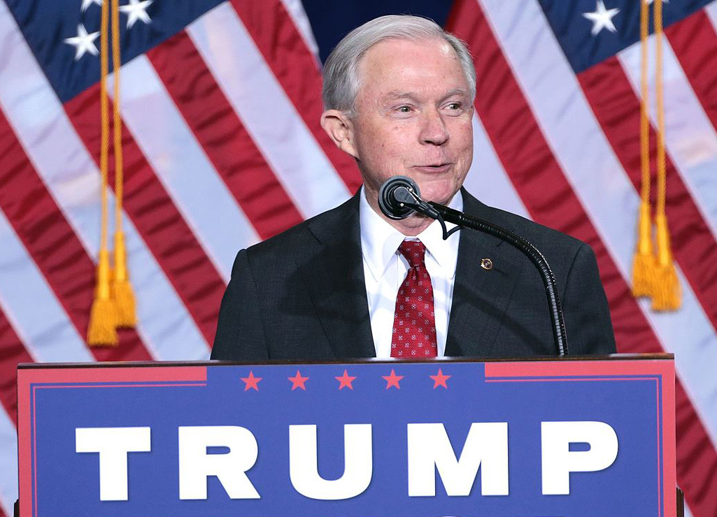 Attorney General Credits President Trump With Fall In Crime Rate