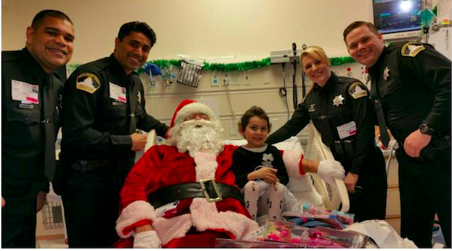 The Sacramento Sheriff's Santa Claus Project