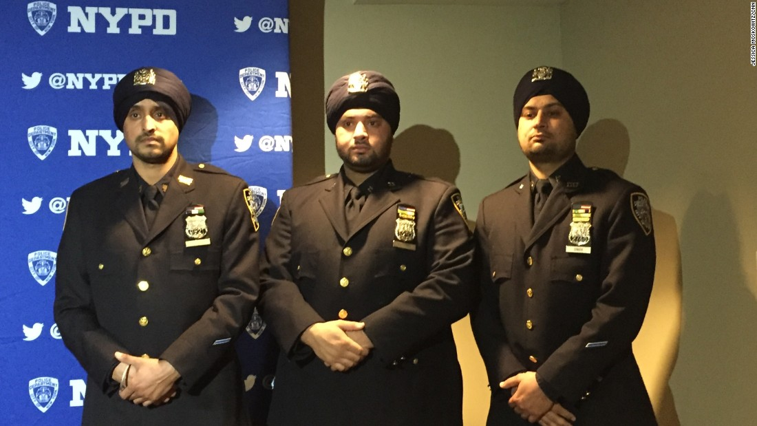 NYPD Introduces New Dress Code For Sikh Officers