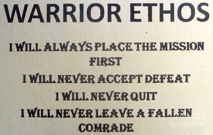 Embracing Our Warrior-Ethos in an Age of Guardians