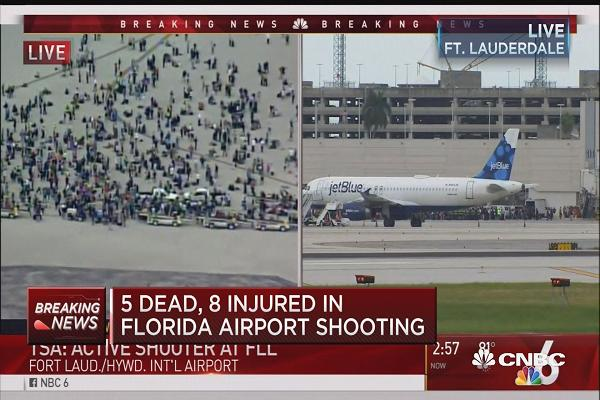 Gunman Kills 5 At Fort Lauderdale Airport
