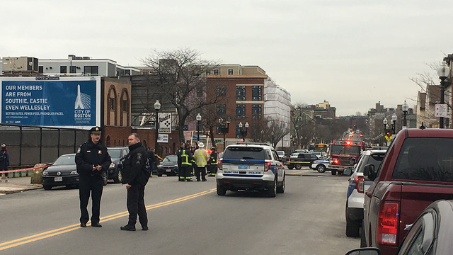 Pipe Bomb Placed Under Boston Police Cruiser