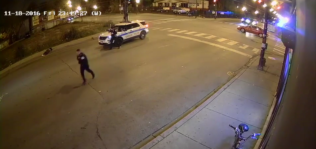 Watch Chicago Police Shoot And Kill Man Firing Into Crowd