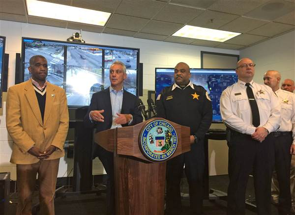Chicago Police Department Announces Efforts To Fight Violence