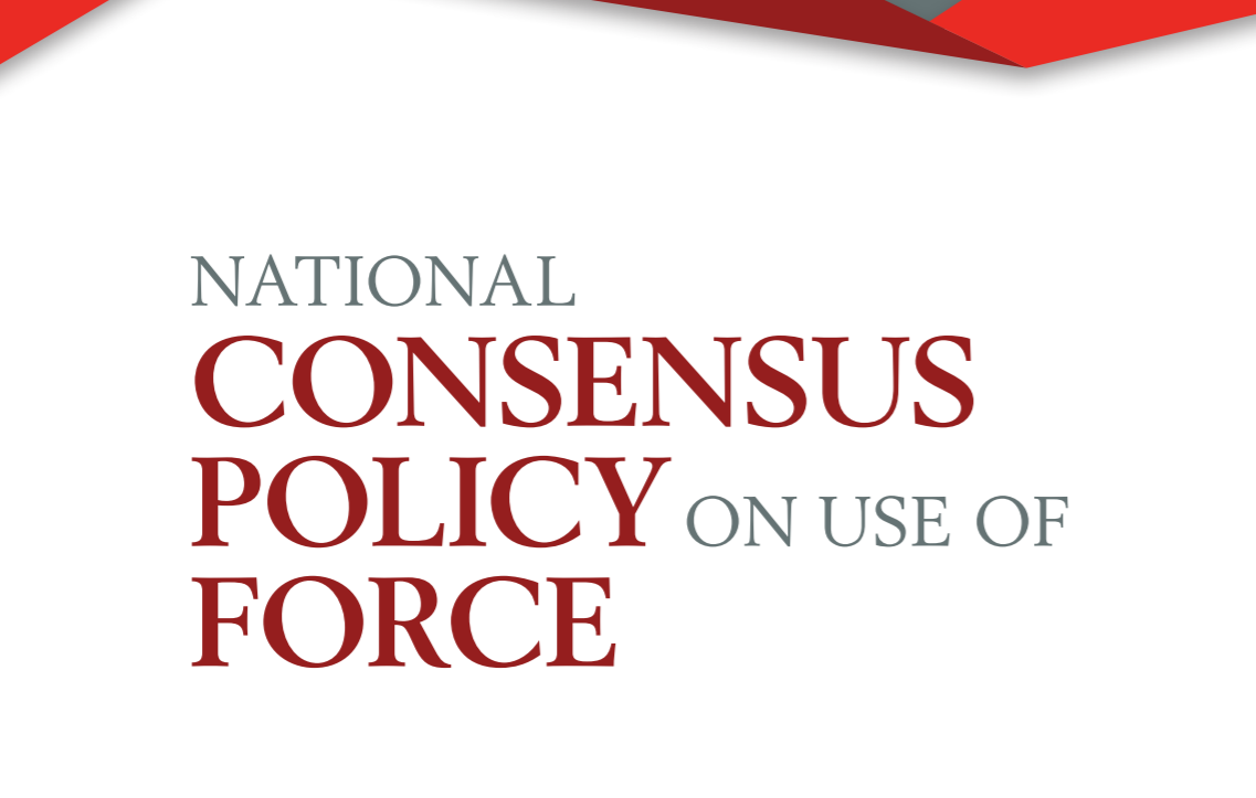 New Model Use Of Force Policy Includes De-Escalation