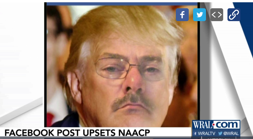 NAACP Demands Action On Police Chief That Impersonated President Trump