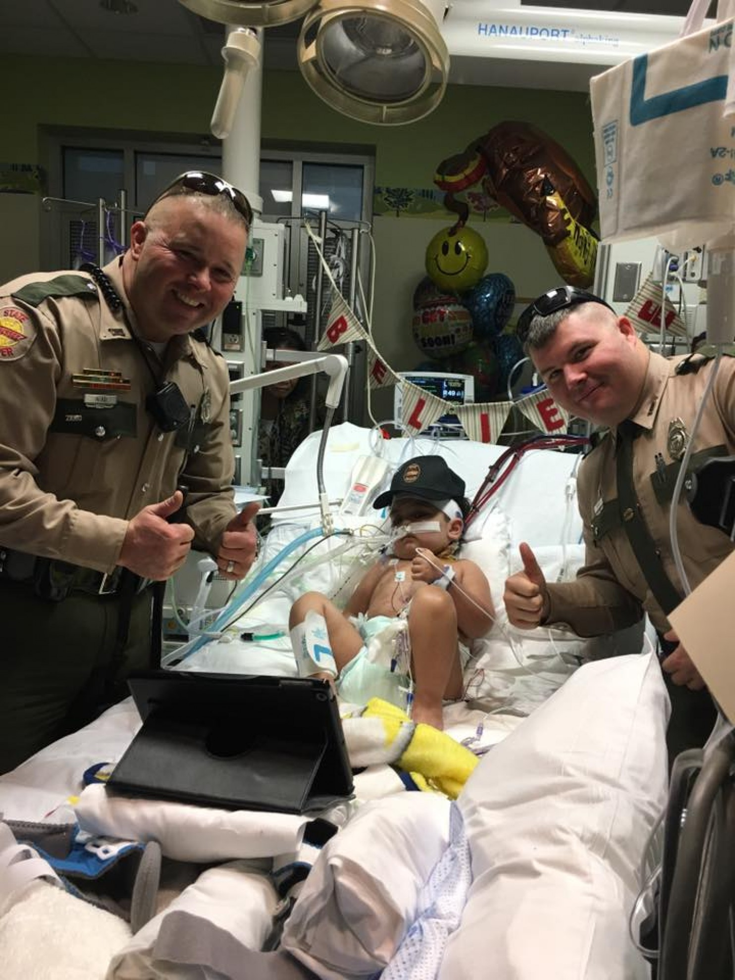 3-Year-Old Needs A New Heart And We Ask You To Send Him Police Items