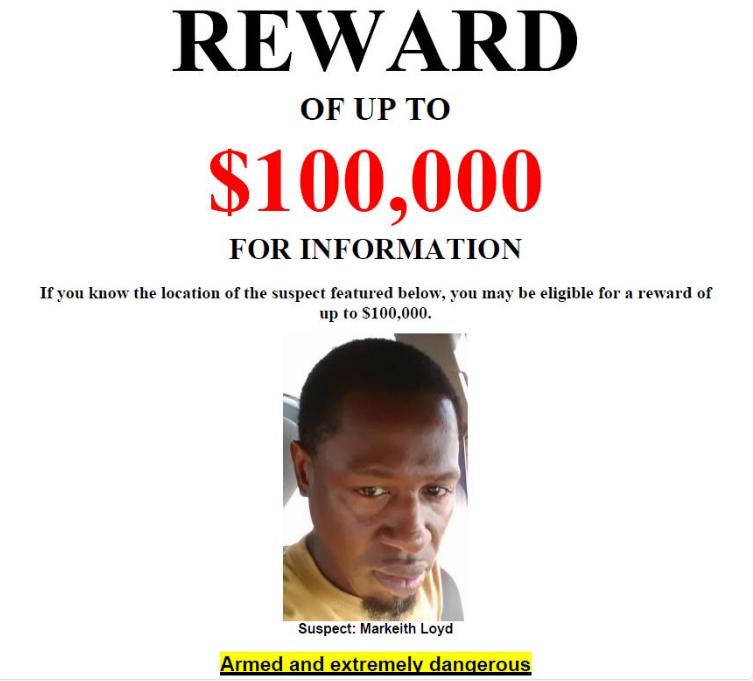 Orlando Cop Killer Still On The Run, Reward At $100,000