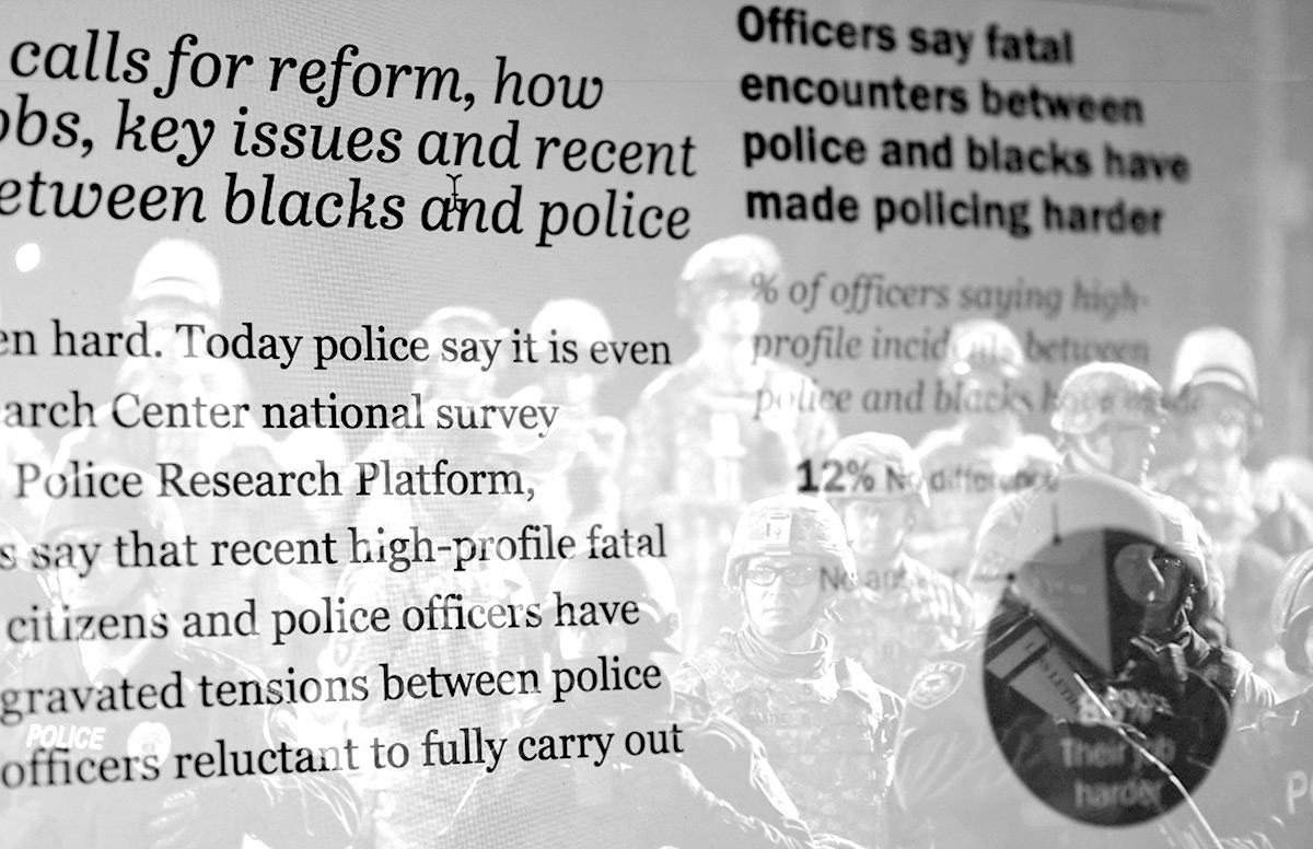 research papers about police officers