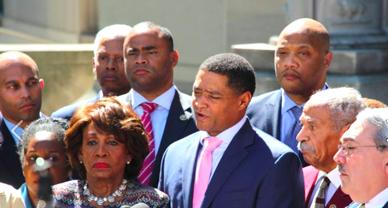 Congressional Black Caucus Leader Threatens Representatives That Remove Racist Painting
