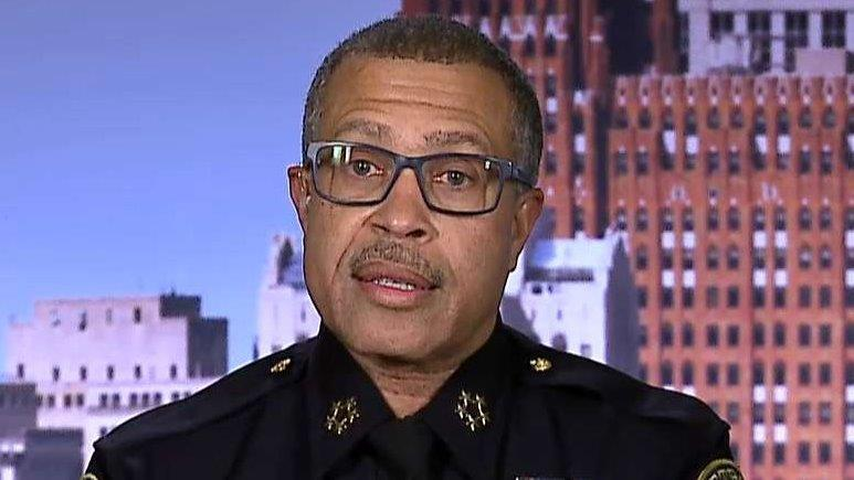 Detroit Police Chief On President Trump:  'Positive And Supportive'