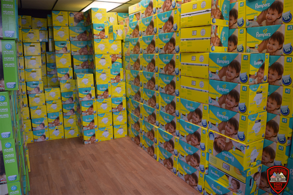 State Police Recover Thousands Of Stolen Diapers