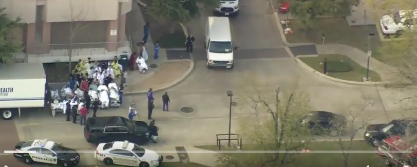 Houston Hospital On Lockdown After Shooting