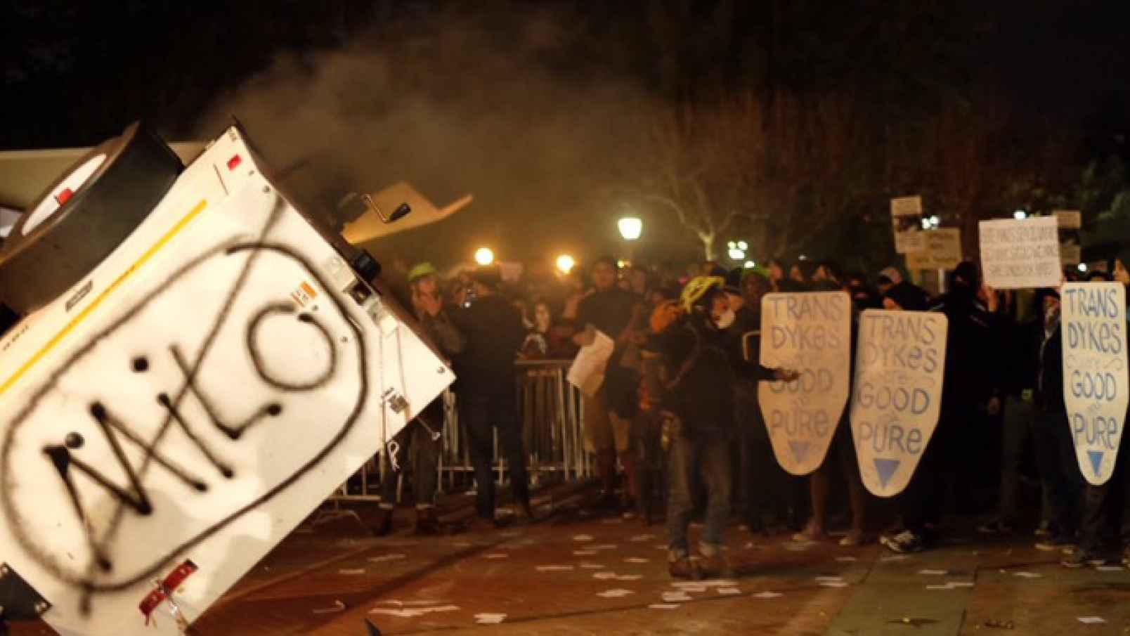 'Hands-Off' Police Response To Berkeley Riots Criticized
