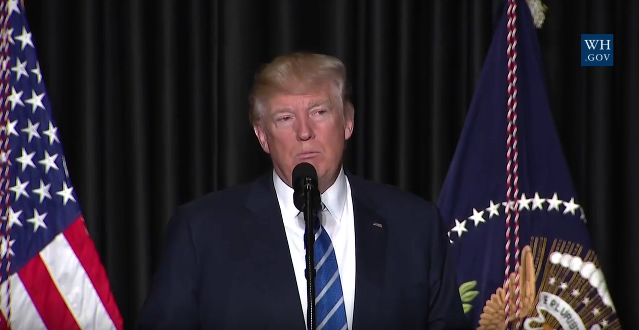 President Trump Did Not Endorse Police Brutality