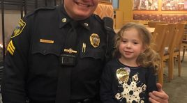 Police Officer Enjoys 'Best Dinner Date Ever'