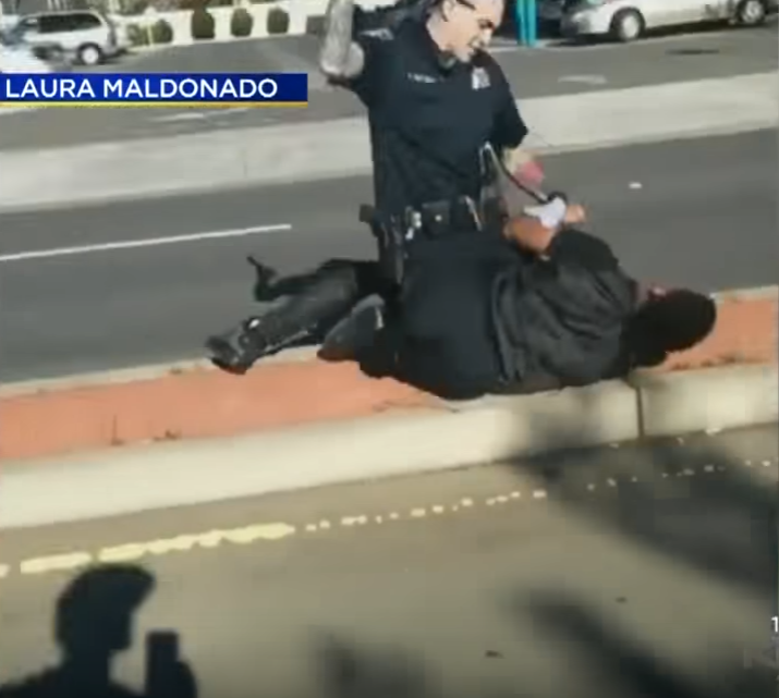 Police Officer Beating Suspect Sparks Outrage
