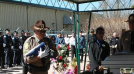 The Burial Of Navajo Tribal Police Officer Houston James Largo