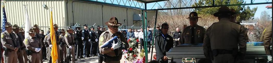 The Burial Of Navajo Tribal Police Officer Houston James Largo