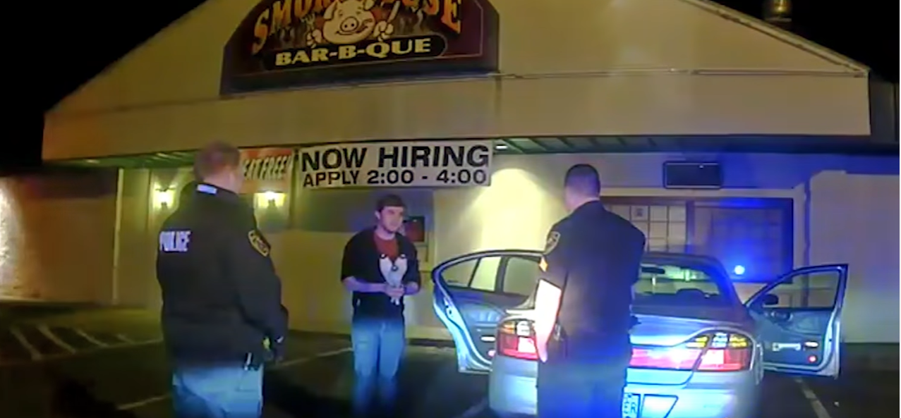 Dashcam Video Shows Student Juggling to Prove Sobriety to Police