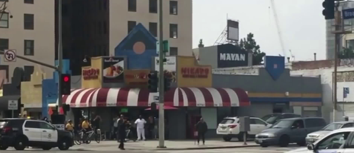 LAPD Fatally Shoots Man With Pipe