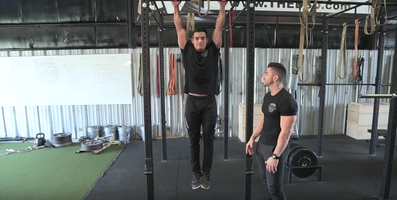 Fit First Responders:  The Hanging Leg Raise