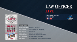 Law Officer Live:  ILEETA 2017