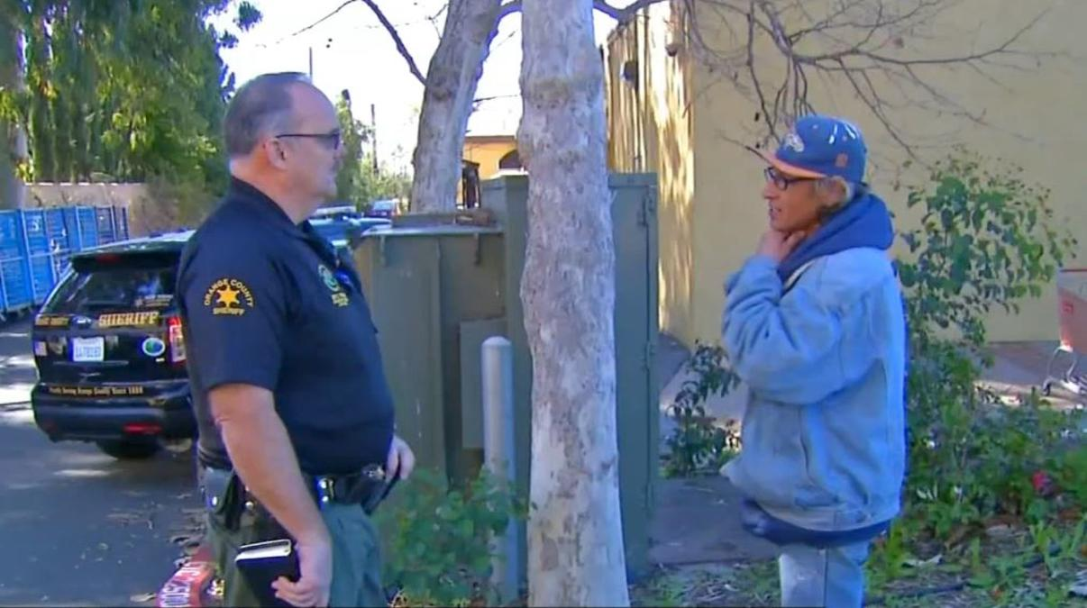 Deputy Helps Find Homes for Homeless