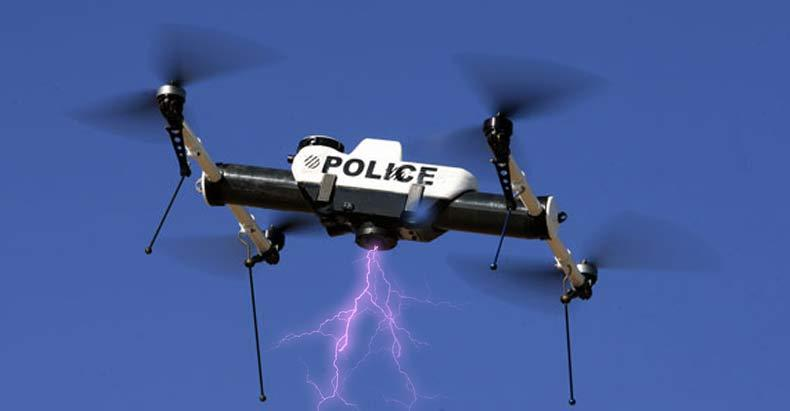 Bill Would Allow Police To Use Weaponized Drones