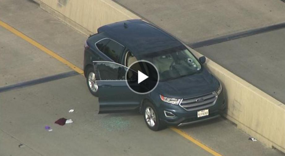 Flying Bolt Kills Man In Car