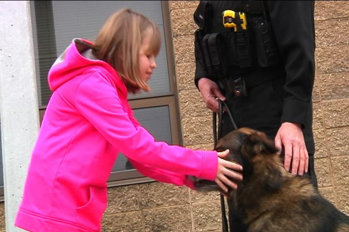 Girl Gives Her Birthday Money To Police Department K9