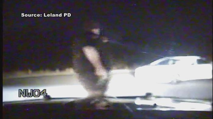 Watch North Carolina Police Officer Shot, Returns Fire And Kills Suspect