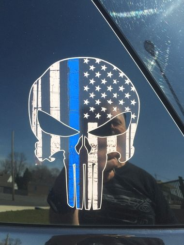 New York Police Place Punisher 'Thin Blue Line' Logo On Cars