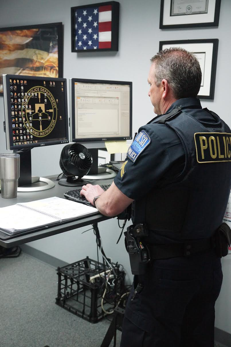 Deskbound: Law Enforcement Standing Up To A Sitting World