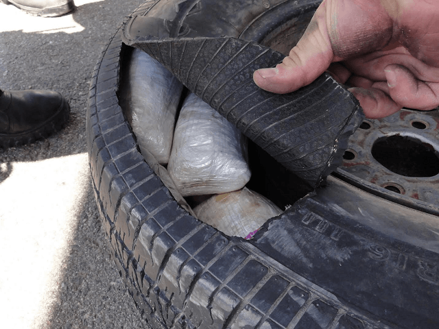 Border Patrol K9 Locates 30 Pounds of Meth At Checkpoint