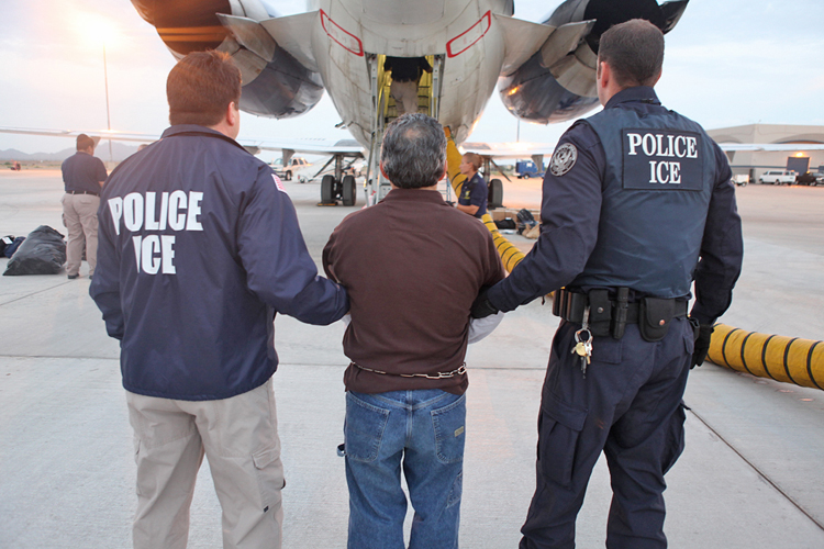 New York Law Would Prohibit Immigration Officials From Having 'Police' On Uniforms