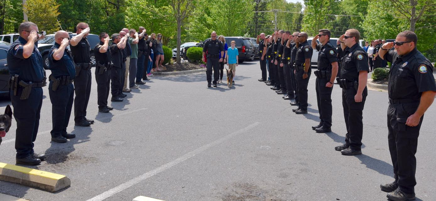 Fallen Little Rock K9 Honored