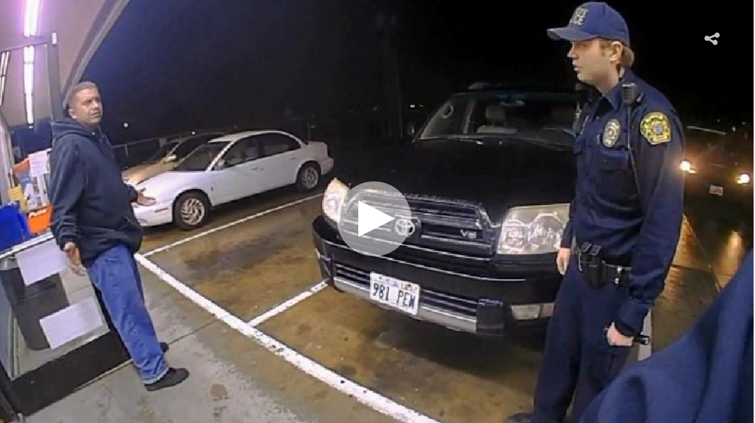 Watch Police Officers Shoot Suspect With His Own Gun