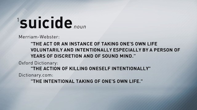 The Definition Of Suicide
