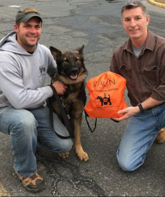 Author Uses Proceeds From Book To Buy K9 Vests