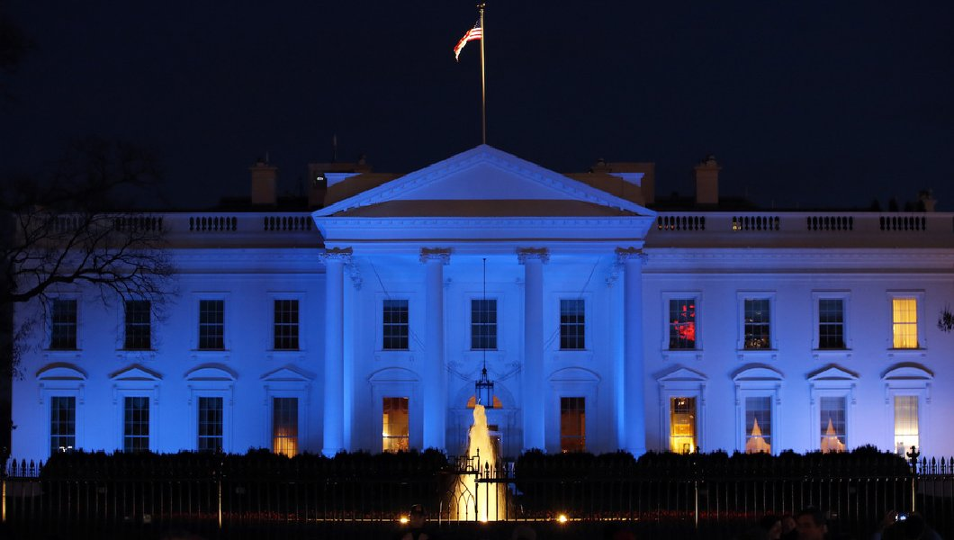 Trump To Light White House In Blue Tonight To Honor Fallen Police Officers