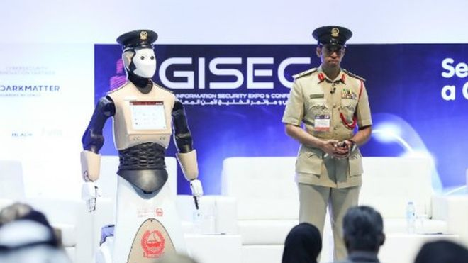 Robot Police Are On Patrol